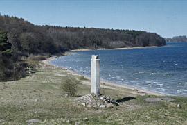 Dummersdorfer Ufer mit Alt Travemünde