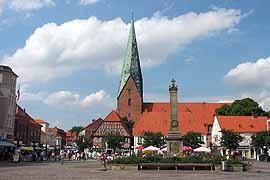 Marktplatz in Eutin