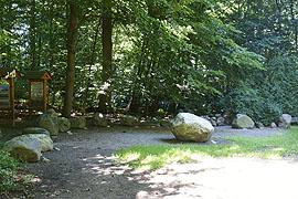 Eiszeitlicher Gesteinsgarten in Malente