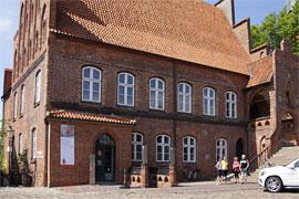 Möllner Museum und Tourist-Information im historischen Rathaus