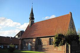Kirche des Hospitals zum Heiligen Geist in Neustdat in Holstein