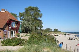 Kite-Strand in Pelzerhaken