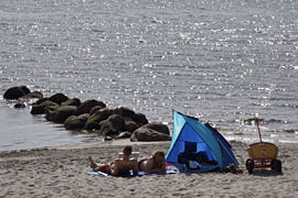 Strand in Rettin