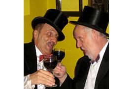 Achim Brock und Wolfgang Welter