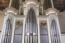 Orgel in der St. Lorenz-Kirche in Lübeck-Travemuende
