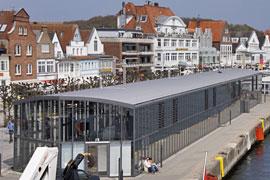 Kreuzfahrtterminal in Lübeck-Travemünde