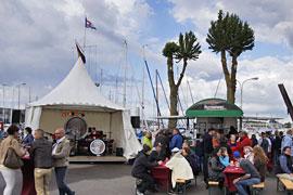 Sommerfest in der Marina Baltica