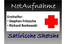 Plakat Notaufnahme - Kulturbühne Travemünde