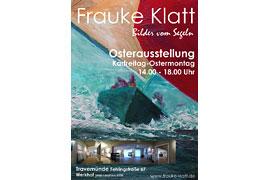 Plakat Osterausstellung Frauke Klatt
