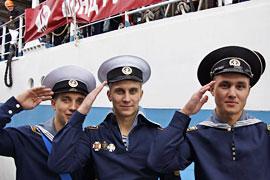 Segelschulschiff MIR - Besatzungsmitglieder