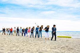 Beachgolf © Tourismus-Agentur Lübecker Bucht