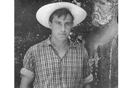 Günter Grass 1951 in Italien © Akademie der Künste Sammlung Maria Rama