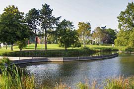 Haffwiesen-Park in Haffkrug