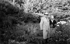 Karl Förster beim Ehepaar Herms