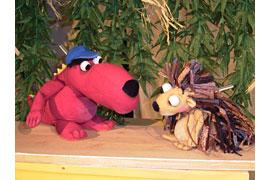Kokosnuss und Mathilda © wolfsburger figurentheater compagnie