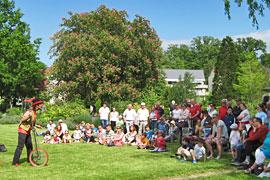 Kurpark Spektakel im Kurpark in Mölln