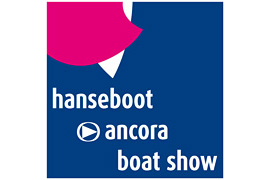Logo hanseboot ancora boat show
