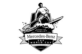 Logo Mercedes-Benz SUP WORLD CUP Scharbeutz