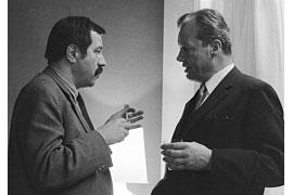 NeuLand - Günter Grass und Willy Brandt © J. H. Darchinger Friedrich Ebert Stiftung