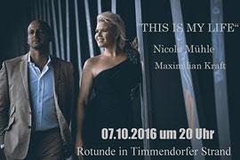 Nicole Mühle und Maximilian Kraft