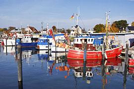 Hafen in Niendorf an der Ostsee