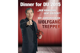 Plakat Dinner for DU 2015 - Wolfgang Trepper