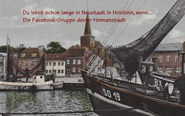 Plakat - Du lebst schon lange in Neustadt in Holstein, wenn ...