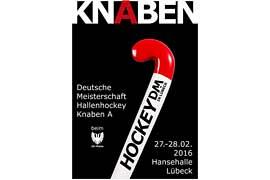 Plakat Hallenhockey DM Knaben A