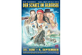 Plakat Karl-May-Spiele 2016