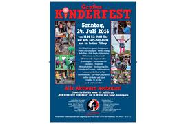 Plakat Kinderfest Karl-May-Spiele 2016