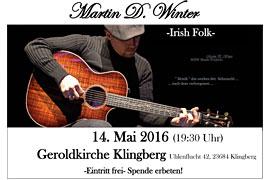 Plakat Martin D. Winter Geroldkirche