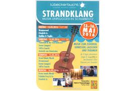 Plakat Strandklang Scharbeutz