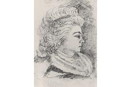 Sophie Mereau um 1798