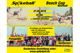 Spikeball Beach Cup in Neustadt in Holstein