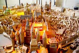 Stadtmodell Museum Holstentor © die Lübecker Museen