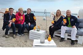 Strandklub Timmendorfer Strand © Gehrke/Wochenspiegel
