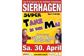 Plakat Tanz in den Mai Sierhagen © Stephan Nanz