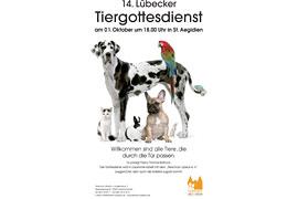 14. Lübecker Tiergottesdienst in St. Aegidien