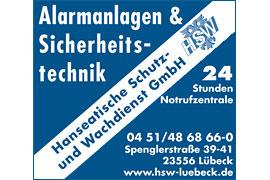 Alarmanlagen HSW Hanseatische Schutz- und Wachdienst GmbH