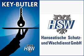 Key-Butler HSW Hanseatische Schutz- und Wachdienst GmbH Lübeck
