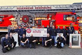 Schlüsseldienst Schultz - Seminar bei der Freiwilligen Feuerwehr in Rendsburg