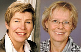 Sylvia Greiling und Susanne Gaemlich