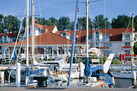 Yachthafen Rosenhof in Lübeck-Travemünde