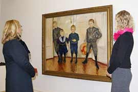 Die Söhne des Dr. Linde im Museum Behnhaus Drägerhaus in Lübeck