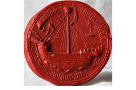 Großes Siegel Danzig von 1400-1939 - Museum HAUS HANSESTADT DANZIG in Lübeck