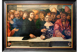 Christus und die Ehebrecherin -Hans Kemmer, 1530 © Jan Friedrich Richter, St. Annen-Museum Lübeck