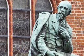 Emanuel Geibel-Denkmal in Lübeck