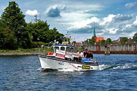 Historische Hafenrundfahrt in Neustadt in Holstein