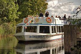 Wakenitz Schifffahrt Quandt in Lübeck
