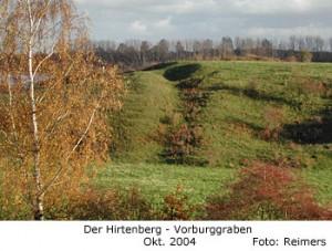 Vorburggraben am Hirtenberg am Dummersdorfer Ufer